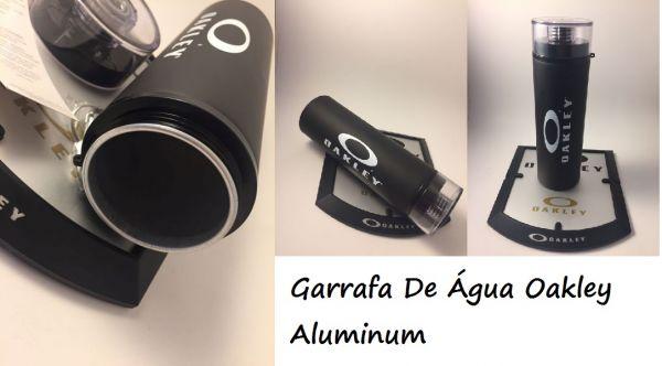 Garrafa De Água Oakley Aluminum Preto Fosco 28OZ