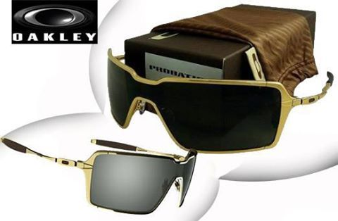 c3a02ab6af28e Oakley Probation Polished Gold Grey « Heritage Malta