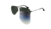 óculos de sol RAY BAN RB3460 002/71  TAM 59 FLIP OUT