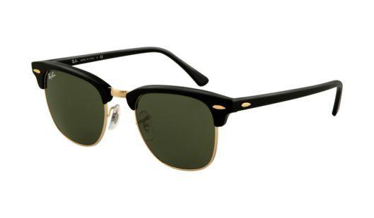 8f304b001 MODA PRAIA BLOG: Óculos de sol Ray Ban Clubmaster RB3016 W0365 ...
