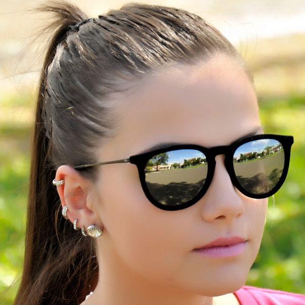 Oculos de Sol Feminino 2014 Espelhado Espelhado Oculos de Sol